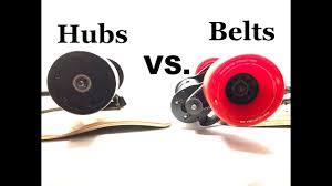 Hub VS Belt Motor – the Best Drive Choice of Electric Skateboard
